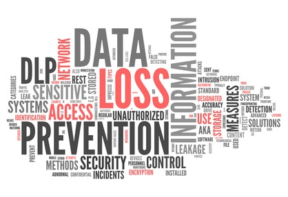 Data Loss Prevention Wortcloud